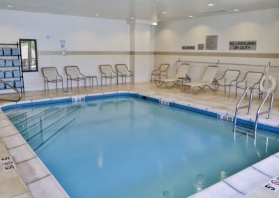 Courtyard Marriott Indoor Pool